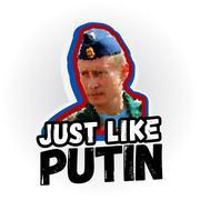 August 25, 2016 Vladimir Putin polygon style Piirros