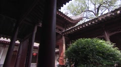 The old buildings in northern China Stock Footage