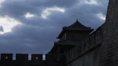 Old Chinese city Stock Footage