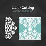 Laser Cut Card Stock Illustration