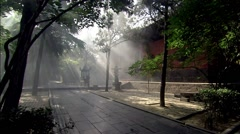 Tanzhe Temple,Beijing Stock Footage