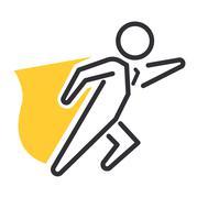 Business motivation icon vector Stock Illustration