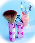 Foundation Makeup Brush Meaning Beauty Products And Make-Up Stock Photos