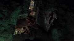Caves - Mira de Aire, Portugal Stock Footage