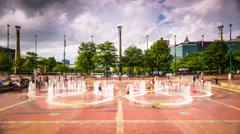 Centennial Olympic Park Stock Footage