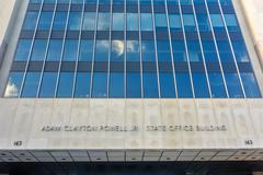 Adam Clayton Powell State Office Building - NYC Stock Photos