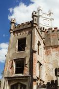 Ruins of state castle, Cesky Rudolec Stock Photos