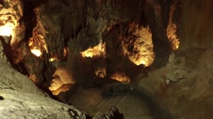 Cavern - Mira de Aires, Portugal Stock Footage