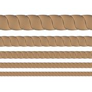 Set of Metal Cables Stock Illustration