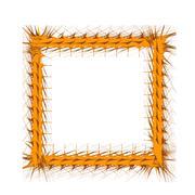 Decorative Yellow Frame Stock Illustration