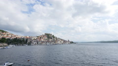 Sibenik Town on Dalmatian Coast, Croatia Europe. Stock Footage