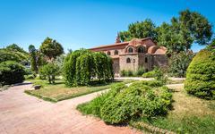 Aya Sofya also known as Hagia Sophia in Iznik, Turkey Stock Photos