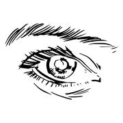 Eyes Stock Illustration