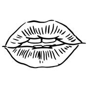 Lips Stock Illustration