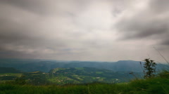 Legendary Hills and Clouds Stock Footage