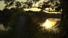 Reston Virginia Lake Stock Footage
