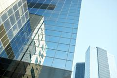Close up of office building or skyscraper and sky Kuvituskuvat