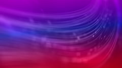 Abstract background vector blue red Stock Footage