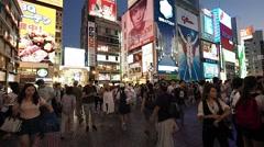 OSAKA, NAMBA - JAPAN FOOTAGE Stock Footage