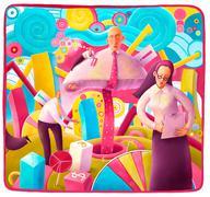 Alice in businessland Stock Illustration