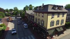 Newport RI Aerial, shops Stock Footage