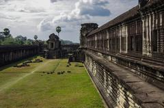 Angkor Wat - Khmer temple in Siem Reap province, Cambodia, Southeast Asia. UN Stock Photos