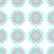 Ethnic oriental geometric seamless pattern Stock Illustration