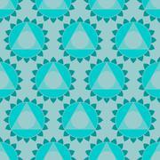 Ethnic Indian geometric seamless pattern Stock Illustration