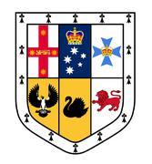 Australian Coat Of Arms Stock Illustration