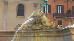 Piazza Navona 4 Stock Footage