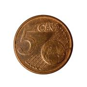 Five cents coin Austria Stock Photos