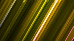 Broadcast Twinkling Slant Hi-Tech Bars, Green, Abstract, Loopable, 4K Stock Footage