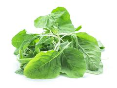 Spinach fresh ingredient salad cooking Stock Photos