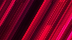 Broadcast Twinkling Slant Hi-Tech Bars, Red, Abstract, Loopable, 4K Stock Footage
