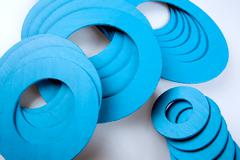 Gasket and flanges Stock Photos