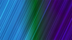Broadcast Forward Slant Hi-Tech Lines, Multi Color, Abstract, Loopable, 4K Stock Footage
