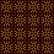 Seamless Symmetry Print Rorschach inkblot test inspired . Abstract seamless Stock Illustration