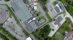 Smokestack top view Rigassiltums Stock Footage