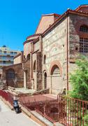 Agios Dimitrios church, Thessaloniki Stock Photos