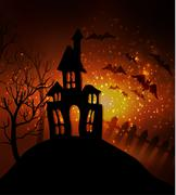 Halloween haunted house Piirros