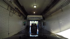 Car Wash Time Lapse Stock Footage
