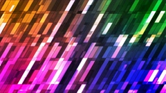 Broadcast Twinkling Slant Hi-Tech Small Bars, Multi Color, Abstract, Loop, 4K Arkistovideo