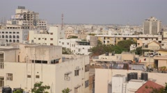 Urban skyline,Hyderabad,India Stock Footage