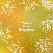 Natural vector background Stock Illustration