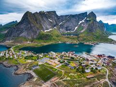 Lofoten archipelago Stock Photos