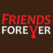 Friendship forever illustration Stock Illustration