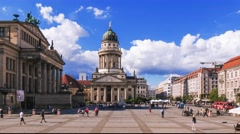 Time Lapse of  Concert Hall  in Berlin, Germany. Stock Footage