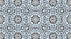 Mosaic fractal geometric kaleidoscopic Stock Footage