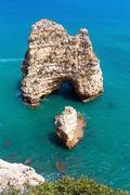 Ponta da Piedade (Lagos, Algarve, Portugal). Stock Photos