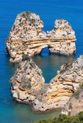Ponta da Piedade (Lagos, Algarve, Portugal). Stock Photos